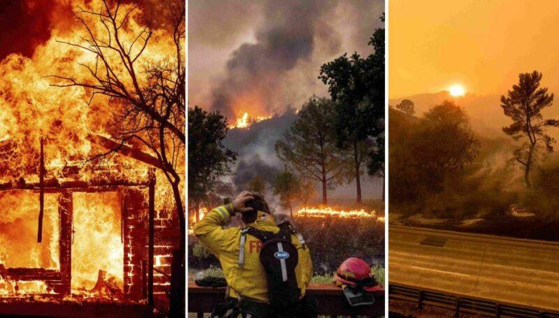 Cierran 18 bosques nacionales de California y ordenan evacuación en Arcadia y Sierra Madre