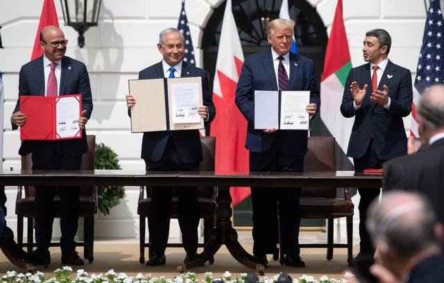 """Video: Israel, EAU y Baréin firman pacto; nace un """"nuevo Medio Oriente"""": Trump"""