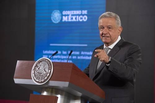 El PAN entorpece la entrega de líquido a EU, señala AMLO. Grave para México, si incumple el Tratado Internacional de Aguas: Conagua
