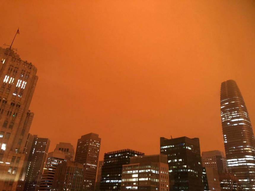 Fuertes vientos y alerta por posibles incendios en el sur de California