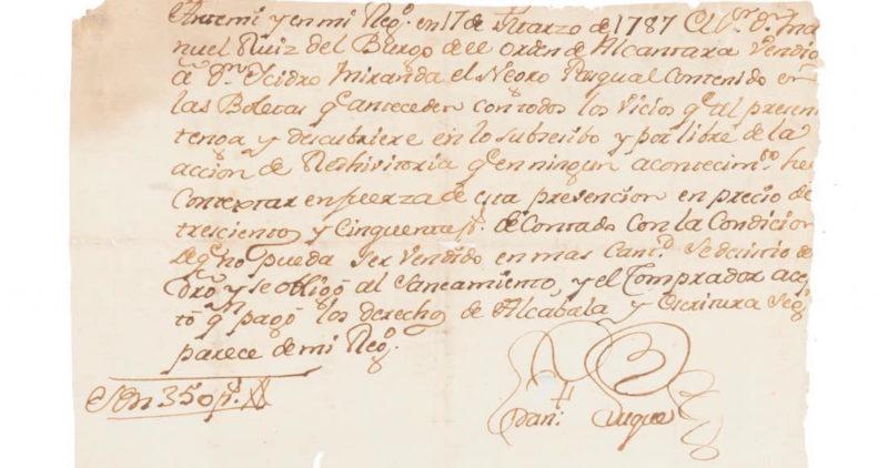 Denuncia oficial de que la casa subastadora Morton vende documentos históricos de México