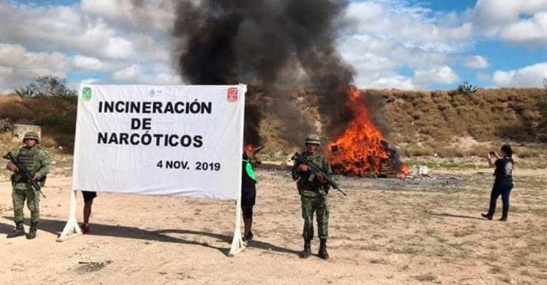 EU incluye a México en la lista de mayores productores de droga. Amaga con sanciones si no lucha más