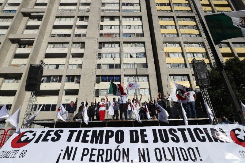 Acabar con impunidad, llamado a 52 años de la masacre de Tlatelolco