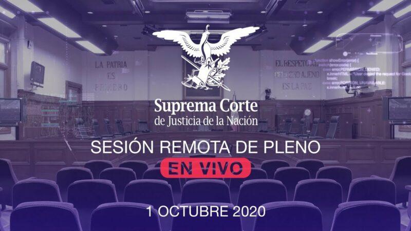 """""""EnVivo: Sesión de los Ministros de la Suprema Corte para decidir sobre el juicio a ex presidentes Salinas, Zedillo, Fox, Calderón y Peña Nieto"""