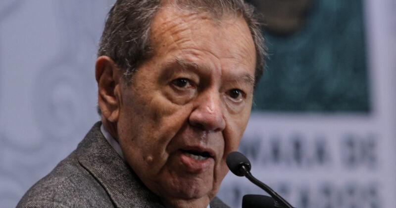 Muñoz Ledo anuncia que este lunes tomará la presidencia de Morena, a las 12hrs. Invita a la militancia