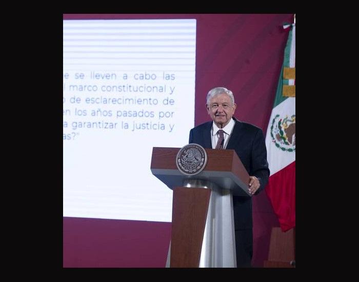 """Video: Condena AMLO """"desbarajuste"""" y riñas en Morena"""