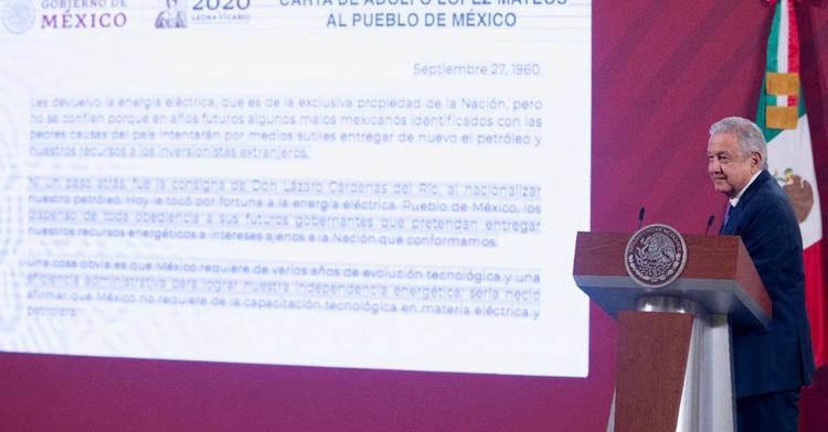 El sector energético es para los mexicanos. Se acabó el entreguismo a empresarios nacionales y extranjeros que eran los amos, afirmó AMLO