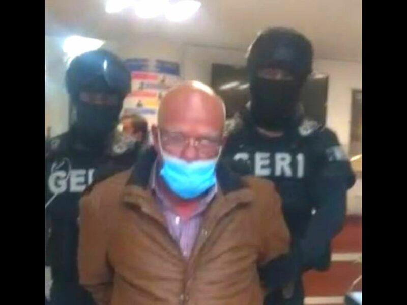 Acusado de corrupción, apresan al mancerista Jorge Eduardo Herrera, ex director de Construcción de Obra Civil del gobierno capitalino