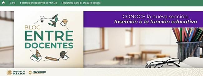 Ponen a disposición de docentes mexicanos nuevos materiales para fortalecer su quehacer educativo
