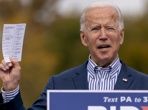 Video: Se hace viral un tuit de Biden que hace un año 'predijo' que EE.UU. no estaba listo para una pandemia