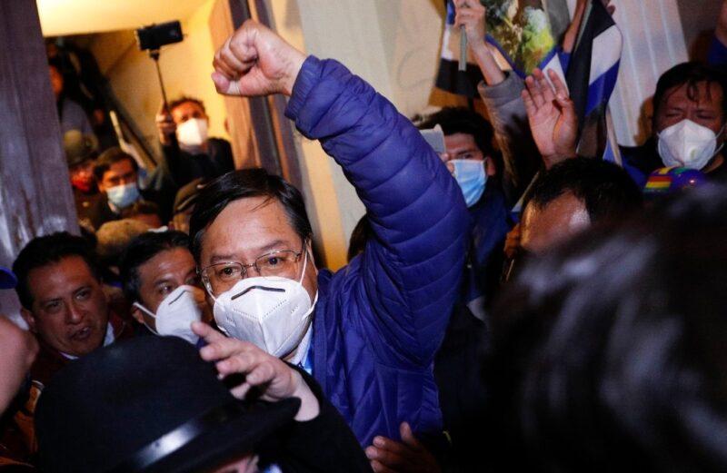 Tribunal declara presidente electo de Bolivia al socialista Luis Arce