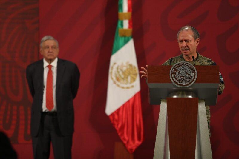 El secretario de Marina, Rafael Ojeda, tiene Covid-19