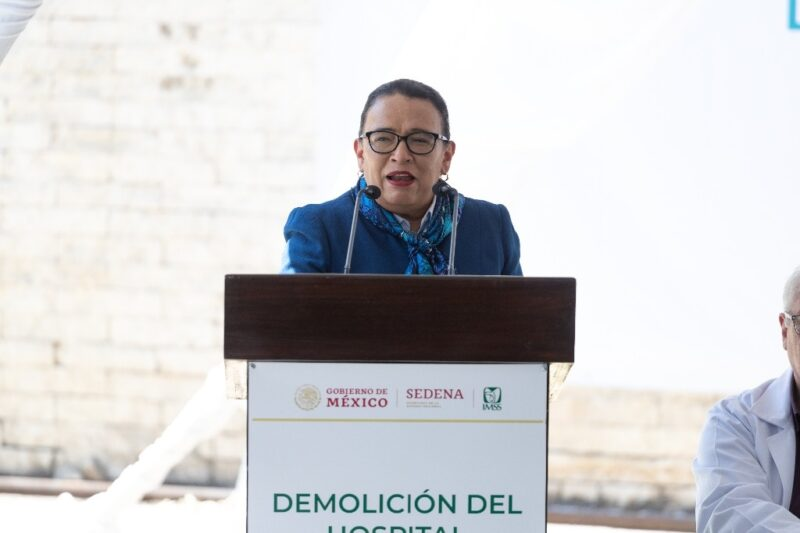 Propone AMLO a Rosa Icela Rodríguez para Seguridad Pública