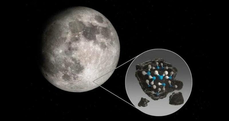 """Videos: La Luna tiene agua. En bolsas y en la superficie. Científicos dicen incluso que hay """"en abundancia"""""""