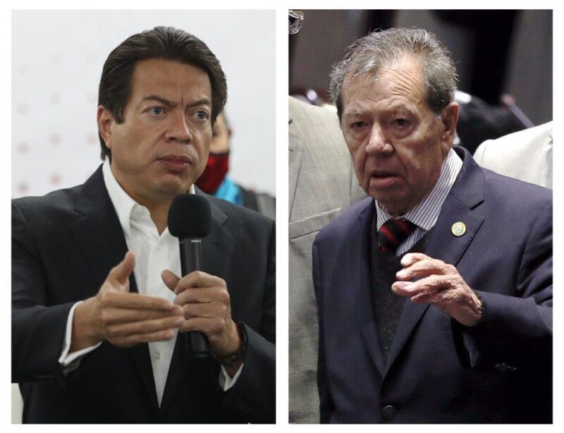 Tras empate técnico, Muñoz Ledo acusa fraude; Delgado llama a la unidad