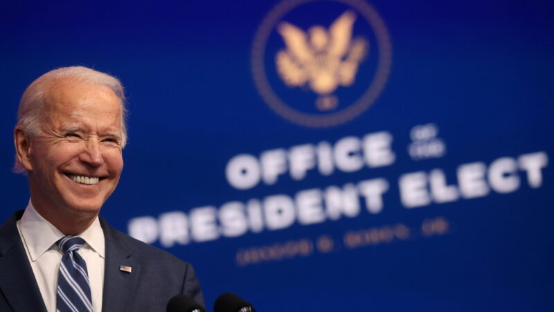 """Vergonzosa"", la negativa de Trump a reconocer su derrota, afirma Biden"