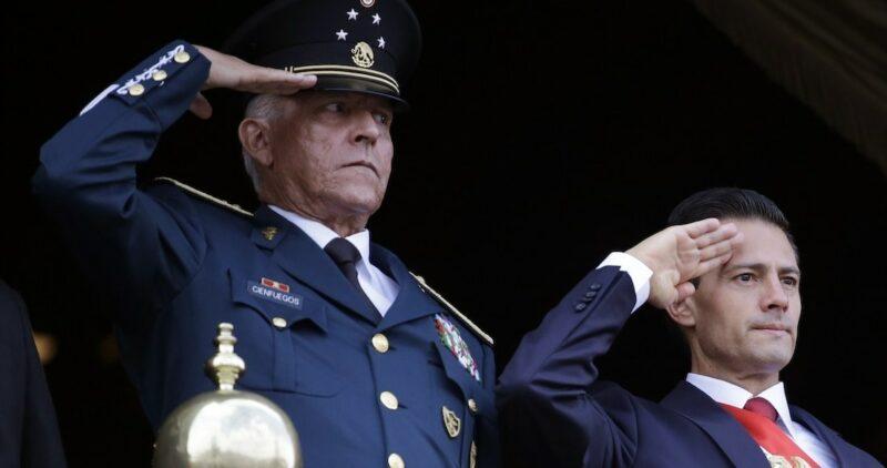 El general Cienfuegos ya está en México. La Fiscalía General de la República checa su salud y dice que lo va a investigar