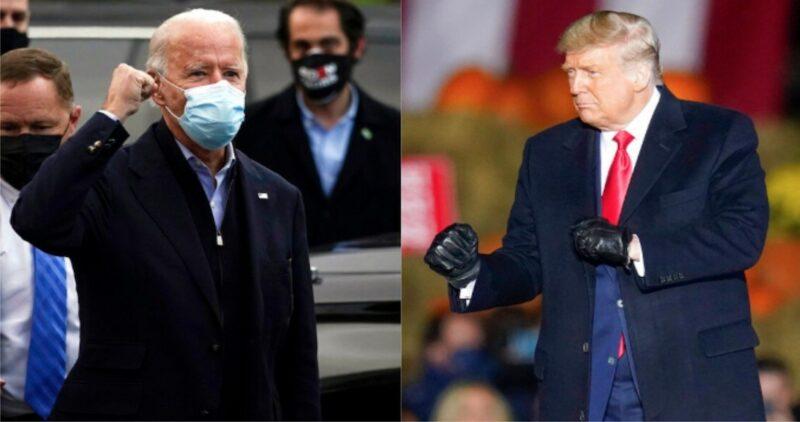 """Trump: """"Nosotros ya ganamos"""", y cuando Biden afirma que falta contar los votos por correo, truena: """"Esto es un fraude"""". Amenaza con ir a la Corte Suprema"""