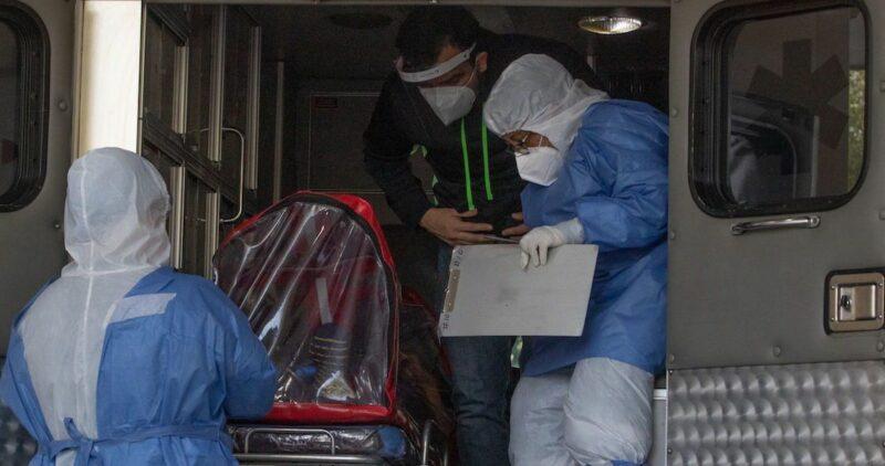 México acumula 105,655 muertes por la COVID-19 y un millón 107,071 casos confirmados, dice Salud. 40 colonias capitalinas, con focos rojos