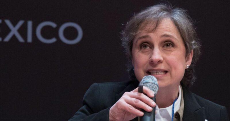 Aristegui es reconocida por la defensa de la libertad de prensa y la lucha contra la impunidad