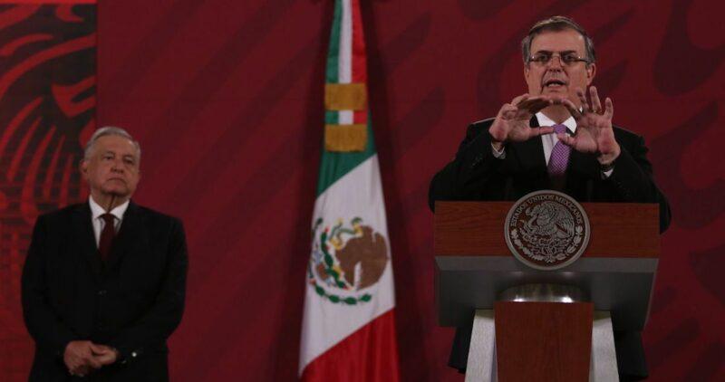 Ebrard dice que AMLO no se ha pronunciado sobre Biden para cuidar la relación México-EU