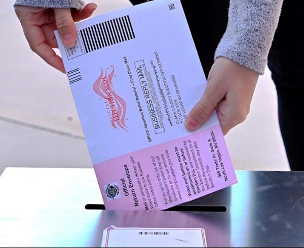 Los votos por correo que definirían la elección presidencial, serán contados hasta el fin de semana, en el condado Clerk, Nevada
