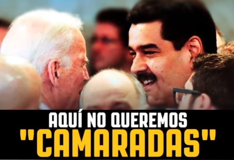 Video: En carrera contra reloj, Trump busca asociar a Biden con Maduro