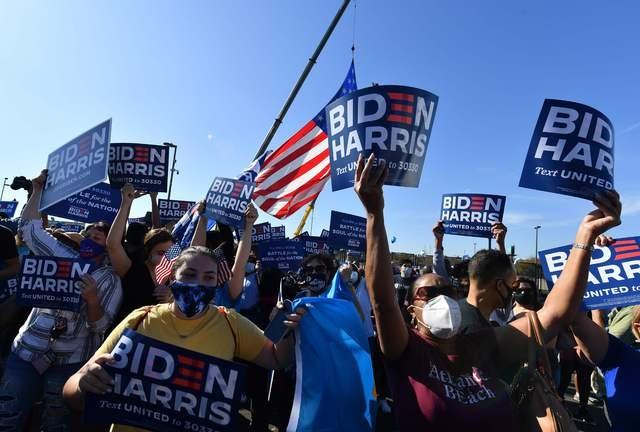 Jefes de Estado felicitan a Biden y Harris