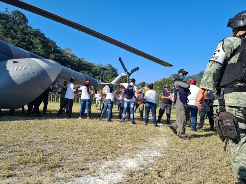 Casi 10 mil personas desalojadas por inundaciones en Chiapas y Tabasco, donde preparan plan para terminar con este problema