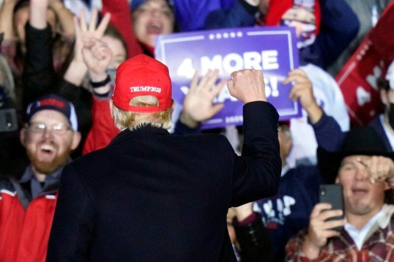 A un día de las elecciones en EU, crecen las intimidaciones de Trump. Trasciende que aún sin resultados, quiere declararse vencedor la noche del martes