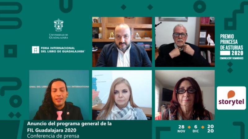 FIL Guadalajara reunirá a tres premios Nobel y más de 300 escritores