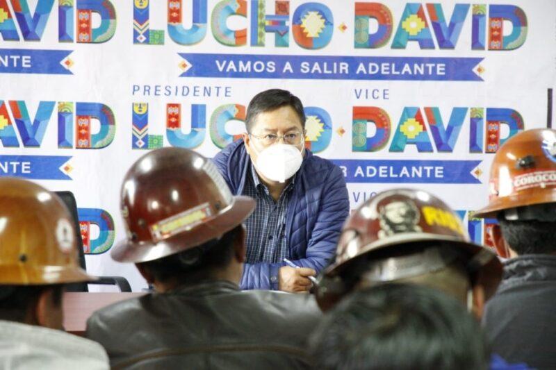 Presidente electo de Bolivia, Luis Arce, sale ileso de atentado