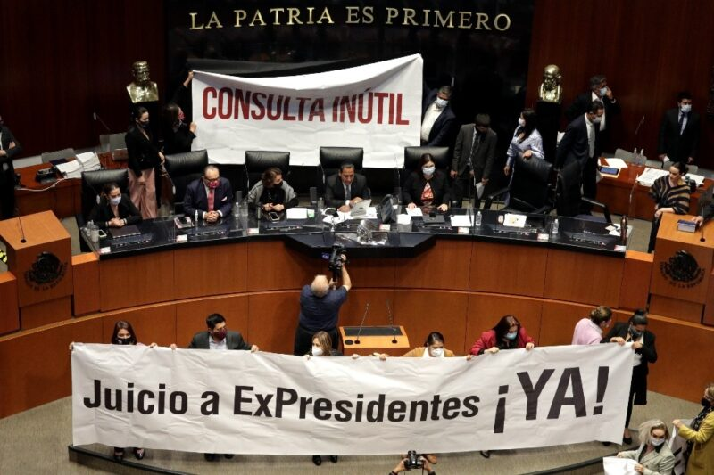 INE avala consulta para enjuiciamiento a ex presidentes