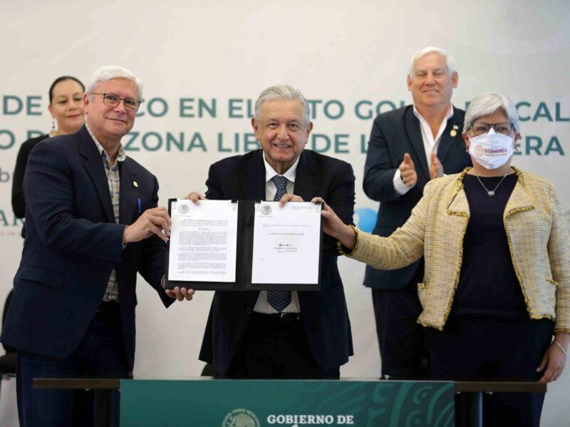AMLO planea elevar a rango constitucional a la zona franca en la frontera norte