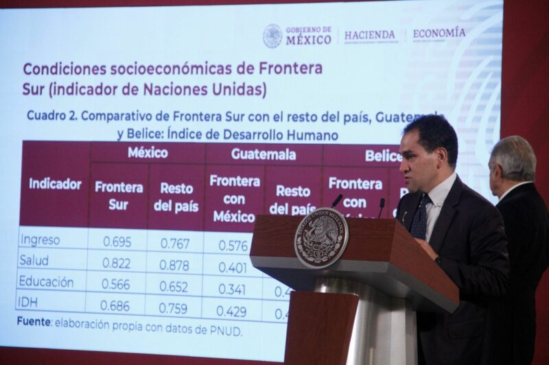 Video: AMLO anuncia estímulos fiscales y otros beneficios para el crecimiento de las fronteras norte y sur. Alza del 100% a salarios mínimos norteños