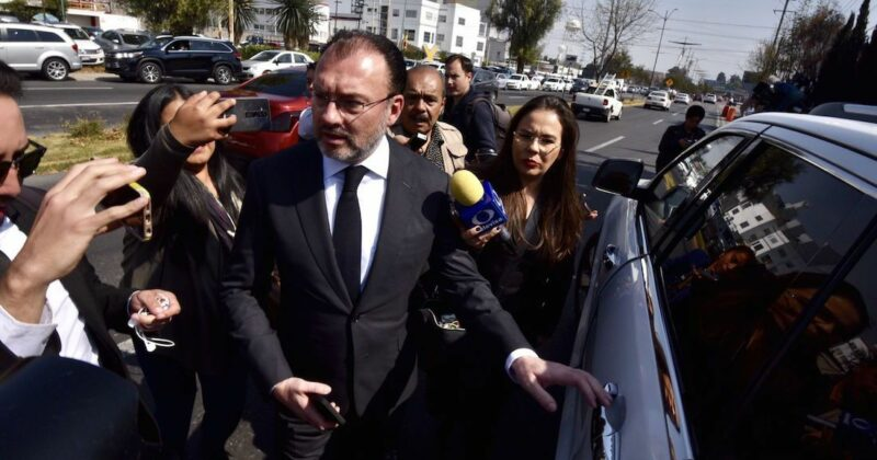 La Fiscalía General de la República renuncia a la orden de aprehensión contra Videgaray, pero prepara nueva con más elementos