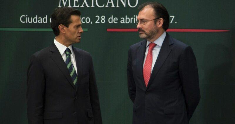 La mar de filtraciones. A Reforma, del hermano de Peña Nieto. De sobornos y Luis Videgaray, a El Universal