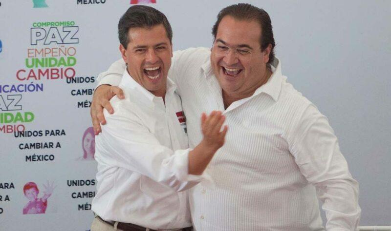 El ex gobernador de Veracruz, Javier Duarte, dispuesto a declarar en la Fiscalía General de la República sobre Odebrecht y Peña Nieto, de quien fue cercano
