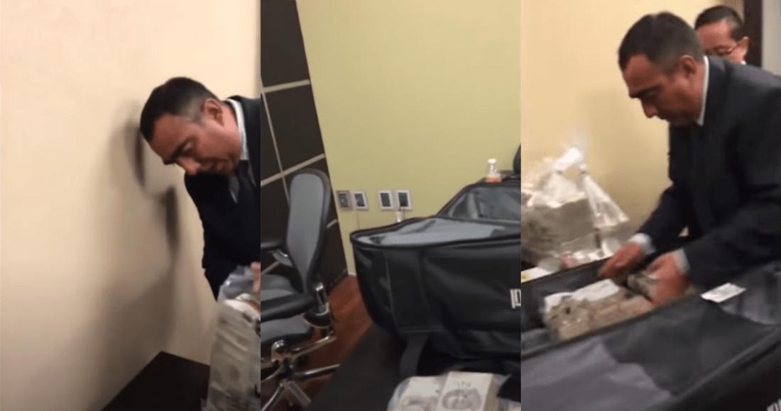 Video: Reforma: Panista confiesa que recibió no una sino 15 maletas de dinero en sobornos de Odebrecht con Peña Nieto. Fue para campañas electorales panistas, dijo