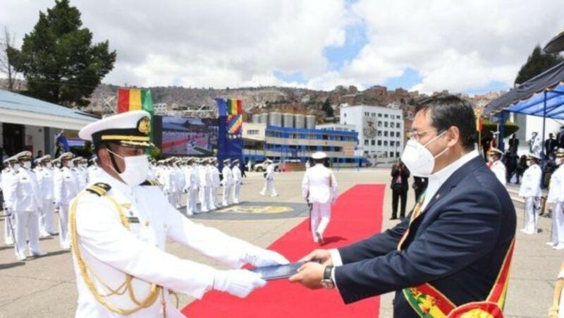 """Video: Presidente de Bolivia advierte a las Fuerzas Armadas que """"no es posible eludir la justicia"""" tras las muertes ocurridas durante el gobierno de facto Publicado:"""