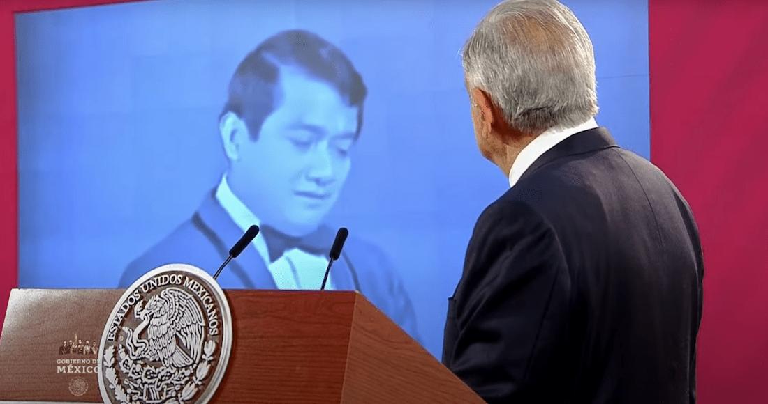 """""""Adoro la forma en que sonríes…"""" La mañanera rinde homenaje a Manzanero desde Palacio Nacional"""