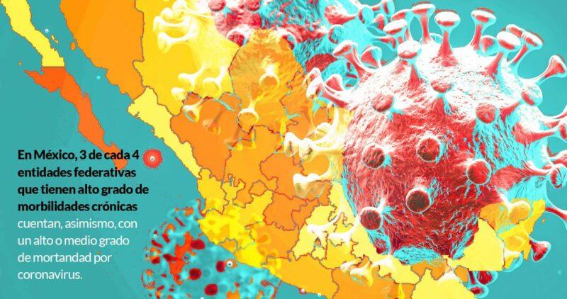 El frío aceleró la pandemia. Será peor en estados con poblaciones más vulnerables, tales como Baja California, Sinaloa y Veracruz