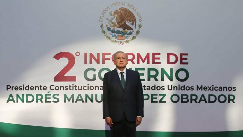 #EnVivo: Segundo informe de gobierno de AMLO