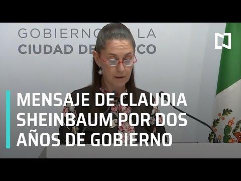 #EnVivo: Segundo informe de gobierno de Claudia Sheinbaum