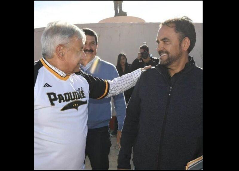Loera de la Rosa, candidato de Morena en Chihuahua. Monreal, en Zacatecas