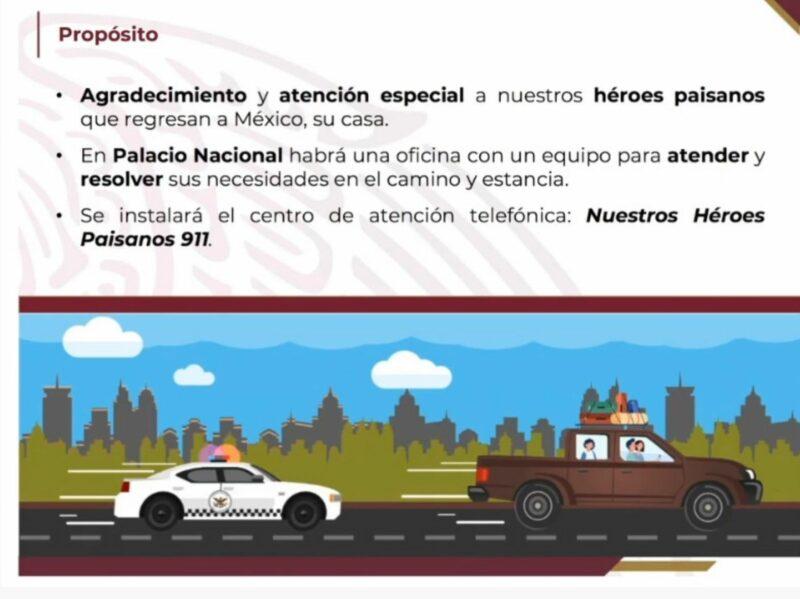 Videos: Dispone AMLO vigilancia para que no haya maltrato ni extorsiones a migrantes mexicanos en EU que retornan a su país a pasar fiestas decembrinas