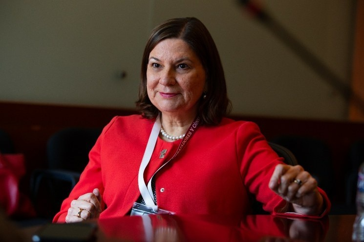 La embajadora de México en EU, Martha Bárcena, anuncia su retiro del servicio exterior