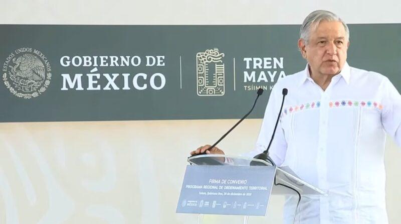 Video: Tren Maya y aeropuertos de Tulum, Chetumal y Santa Lucía serán operados por militares para que no sean privatizados. Sus ganancias, para pensionados y jubilados del Ejército y Marina