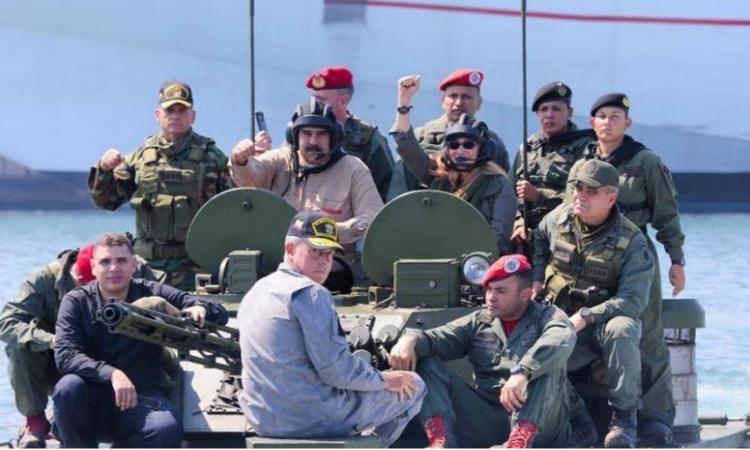 Alerta Maduro sobre ataques inminentes a bases militares venezolanas financiados por Colombia