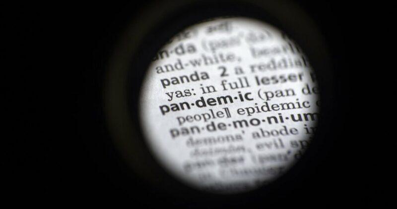 """""""Pandemia"""" es la palabra del año 2020, marcado por la COVID-19; se disparó su búsqueda desde marzo"""